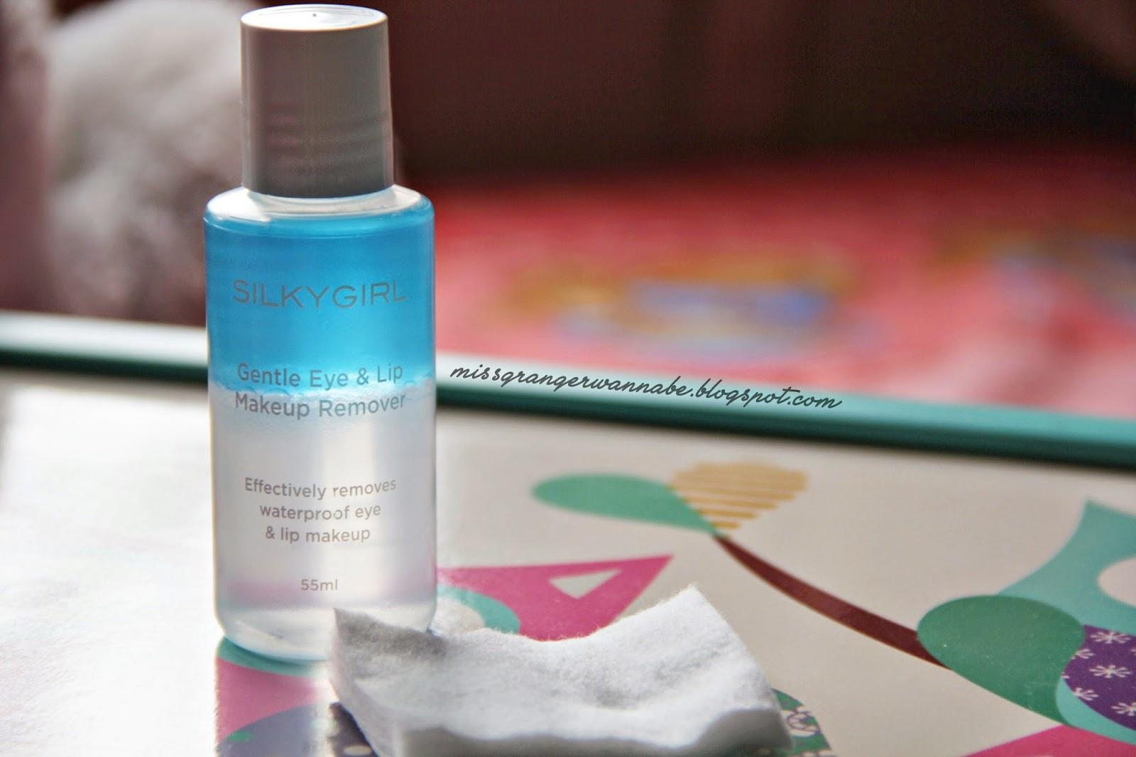 REVIEW Silkygirl Gentle Eye & Lip Makeup Remover - ekagustina