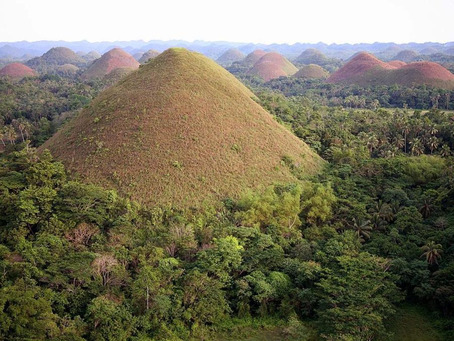 Chocolate Hills Bohol Philippines Funnilogy