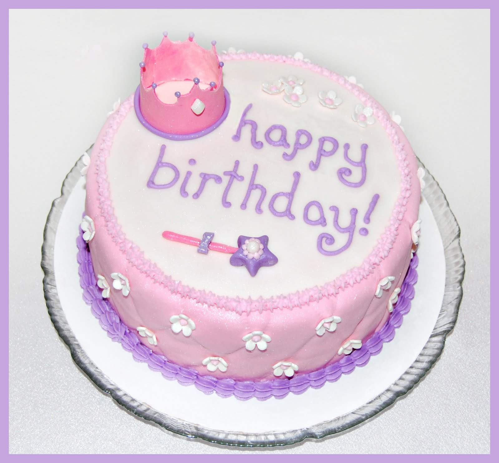 Princess Birthday Cake Designs