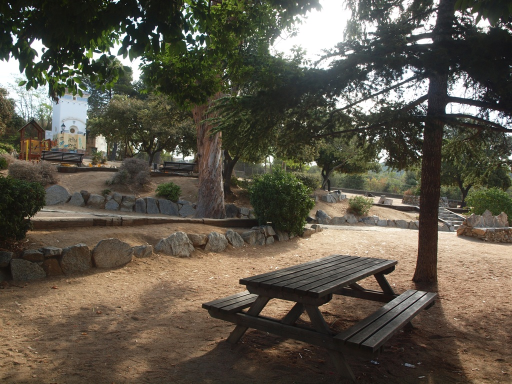 SOM DE PÍCNIC: Zona de pícnic del Parc del Santuari de la Misericòrdia, Canet de Mar, Maresme