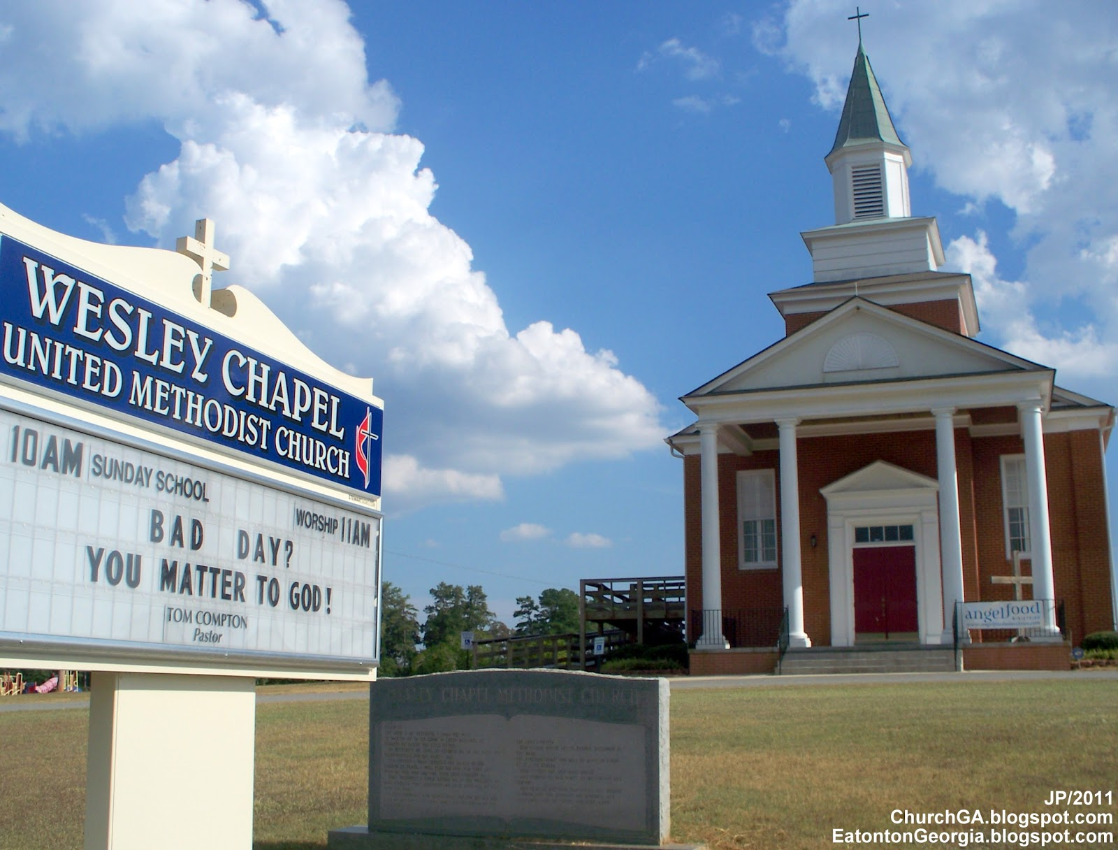 ... METHODIST CHURCH, WESLEY CHAPEL United Methodist Church Eatonton
