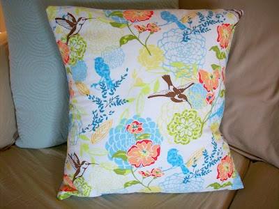 throw pillow tutorial diy