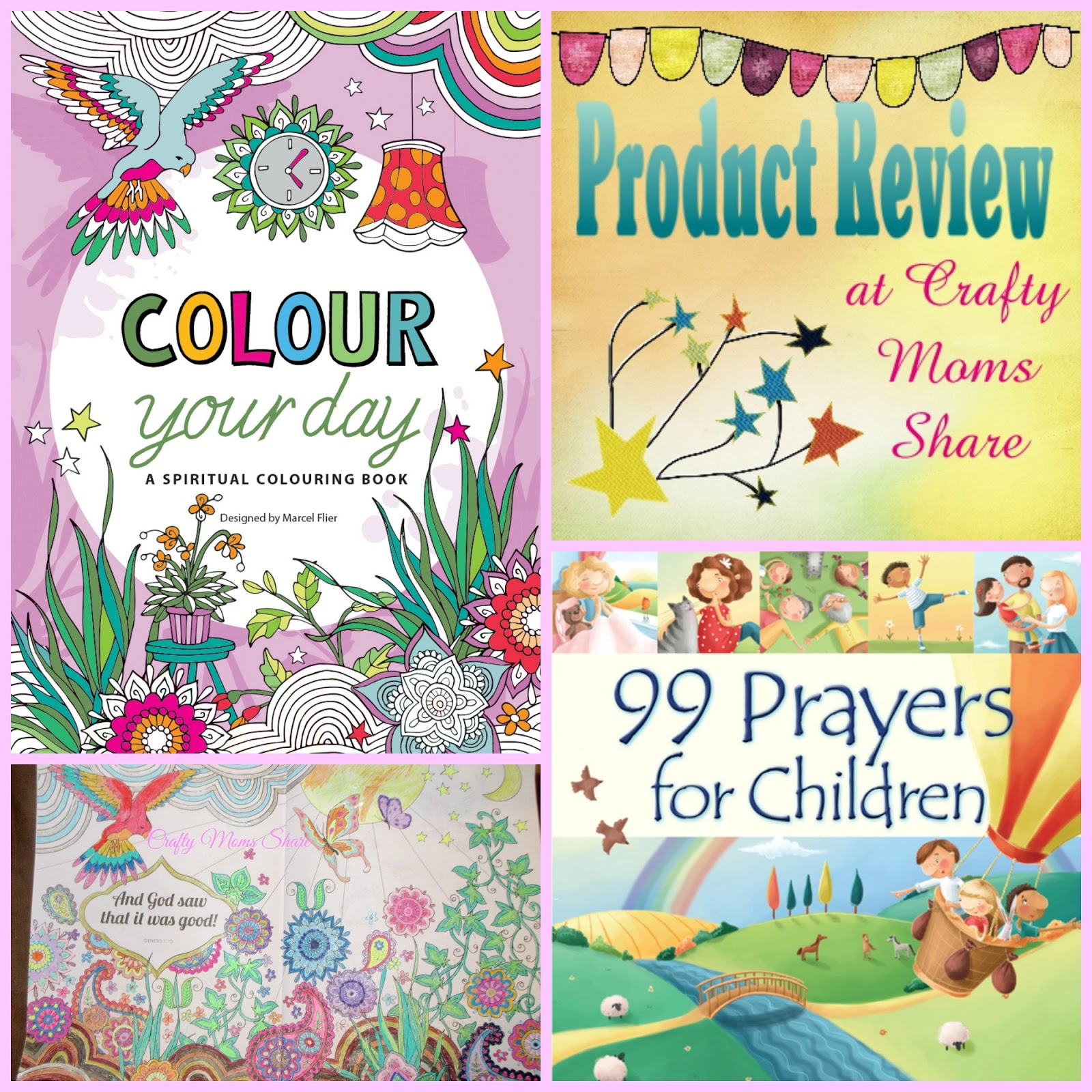 colour your day 99 prayers for children book reviews - Colour For Children