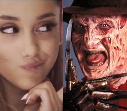 Na infância, eu sempre queria usar maquiagens como a do Freddy Krueger e carregar um stick de hóquei