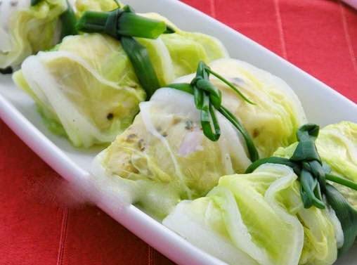 Bí quyết làm món Bắp cải cuấn thịt hấp ngon