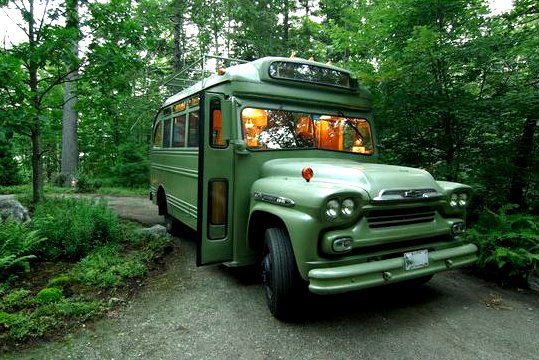The Flying Tortoise A Tiny Bus Converted Into A Beautiful