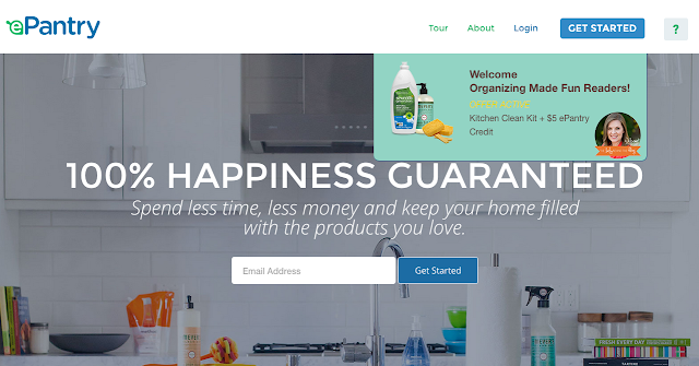 ePantry offer for FREE dish soap and Mrs. Meyers Clean Soap and more :: OrganizingMadeFun.com