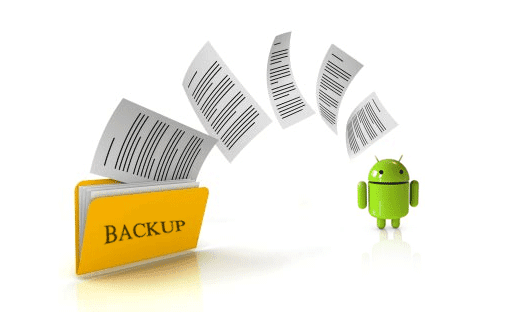 back up data di android