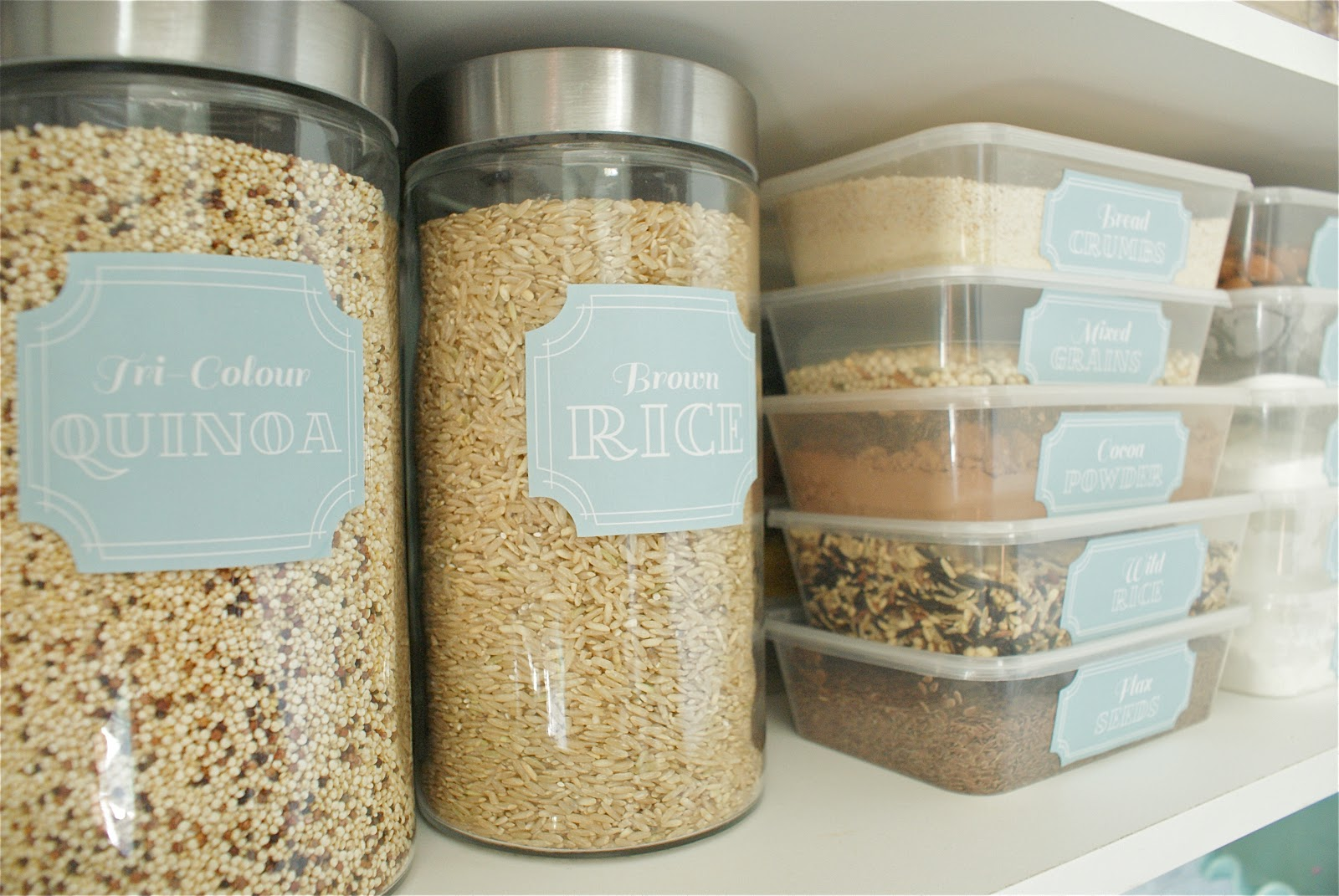 Pantry Pretty Dollar Store Pantry Makeover