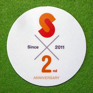 Sumally2周年記念スペシャルステッカー