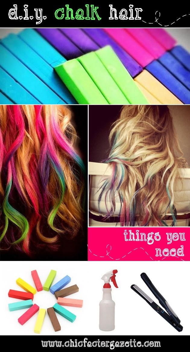DIY Hair Chalk