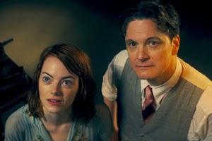 Emma Stone y Colin Firth en Magia a la luz de la luna