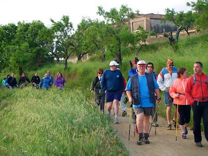 Seguint l'antic Camí Romeu en direcció a Montserrat