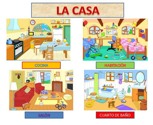 La psico-goloteca: CENTROS DE INTERu00c9S: LA CASA