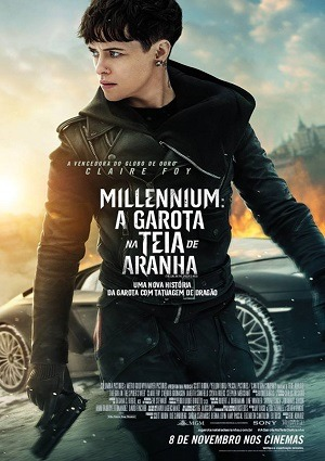 Millennium - A Garota na Teia de Aranha Torrent Dublado 1080p 720p Bluray Full HD HD