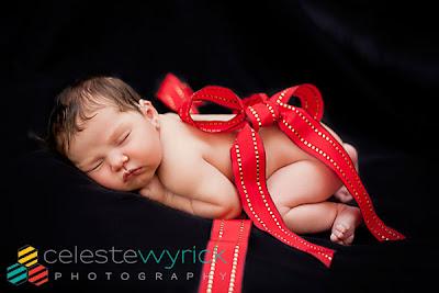 Precious Newborn Photography. Copyright 2012 Celeste Wyrick Photography
