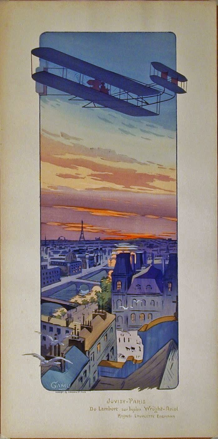 lithograph, Gamy, Paris