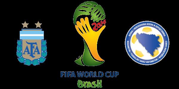 Argentina 2 - 1 Bosnia Herz. Argentina gana por la mínima con muchos apuros