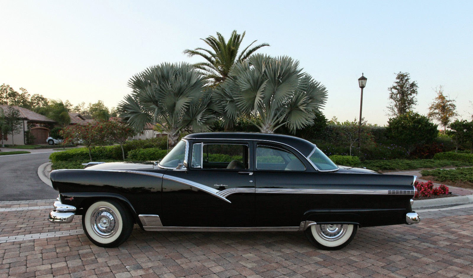 all american classic cars 1956 ford fairlane 2 door club