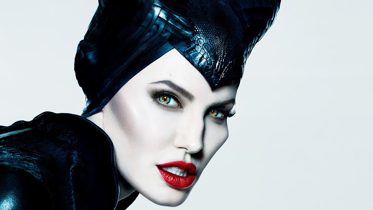 angelina jolie in maleficent movie girl 2014 hd