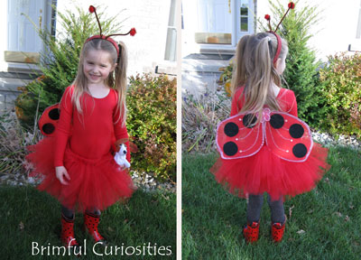 Brimful curiosities how to make a ladybug girl costume how to make a ladybug girl costume solutioingenieria Image collections