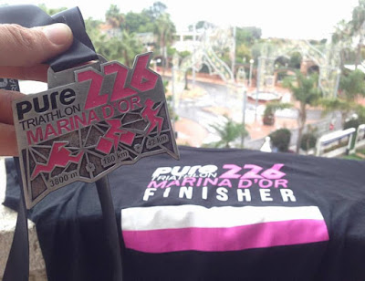 finisher primer ironman pure226 triathlon marina dor
