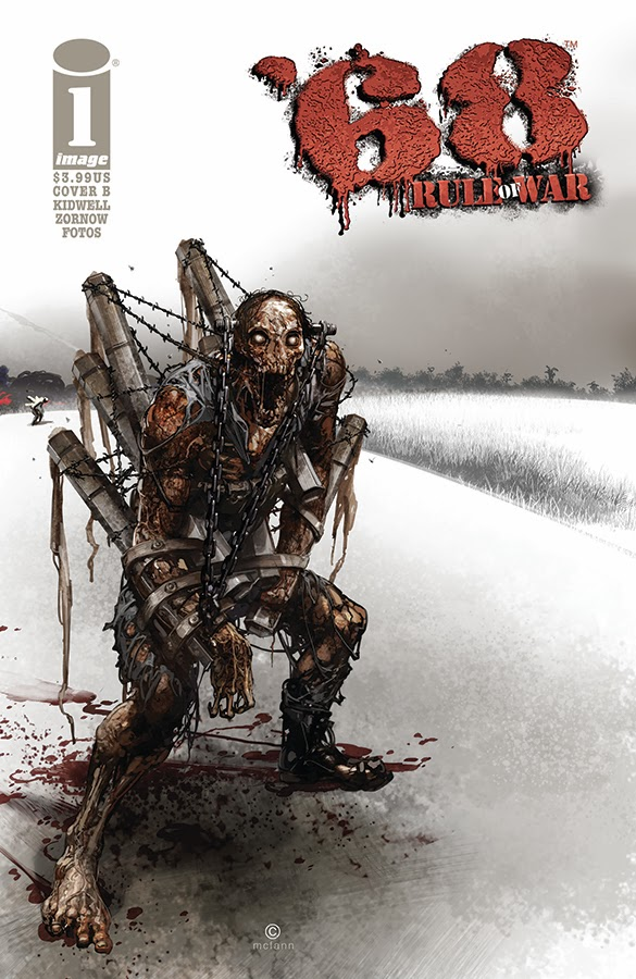 68 (Sixty Eight) Rule Of War #1 (of 4) (Cover B - Crain)