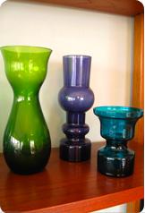 RETRO GLASS, NEW ITEMS!
