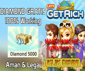 Trik Diamond Gratis Line Let's Get Rich