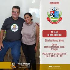 MAIS UMA VENCEDORA F M C !!!
