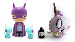 56 New vinyl toys by Kathie Olivas and Brandt Peters