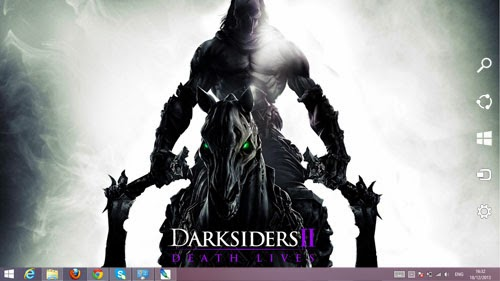 Darksiders 2 Death Lives Theme For Windows 7 And 8 8.1