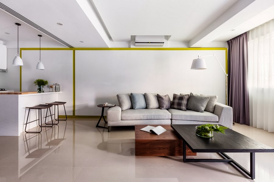 amenajari, interioare, decoratiuni, decor, design interior, colorat, apartament, modern, living,  bar, bucatarie,