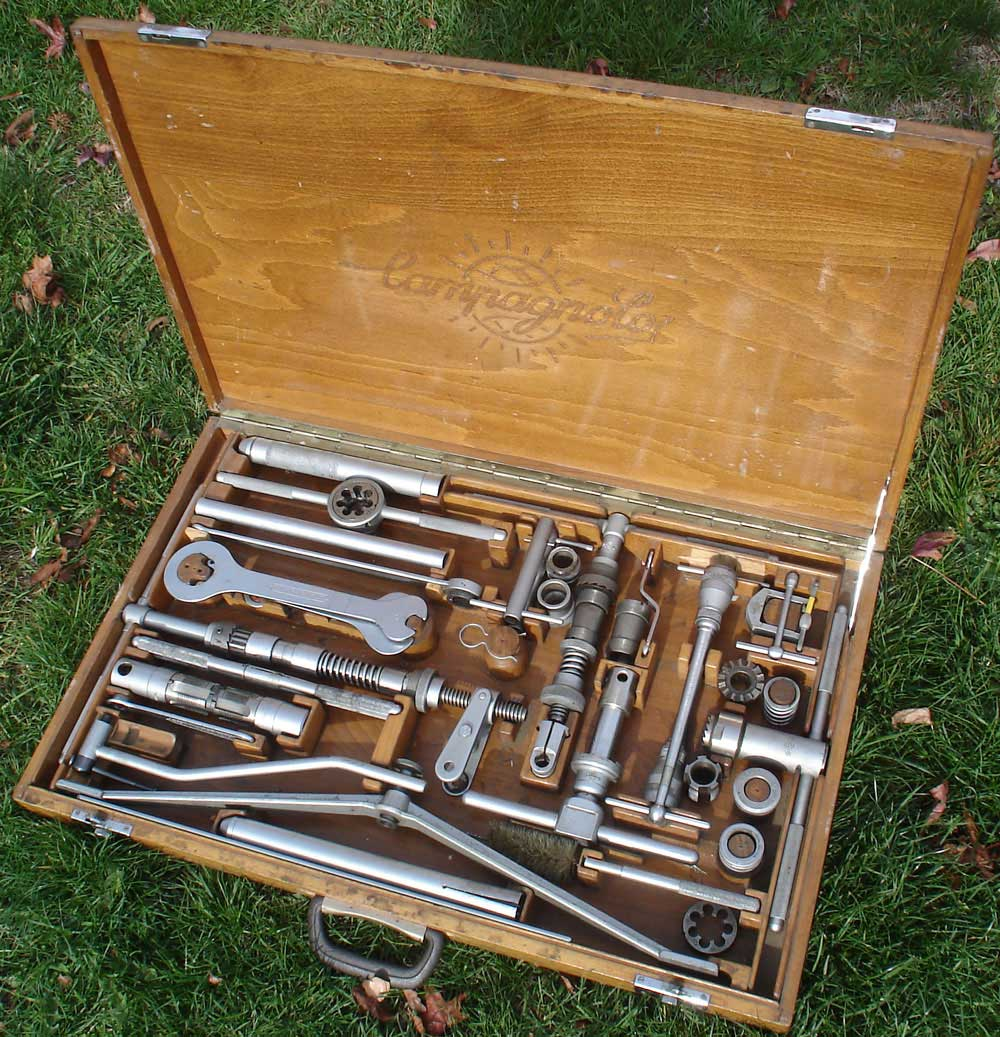 Cool Tools Campagnolo Complete Tool Case News On The Bike