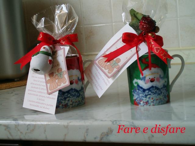 Fare e disfare cioccolata in tazza for Tazze da regalare a natale