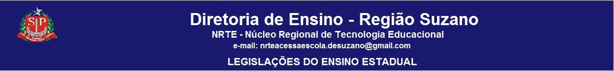 DIRETORIA DE ENSINO - REGIÃO DE SUZANO