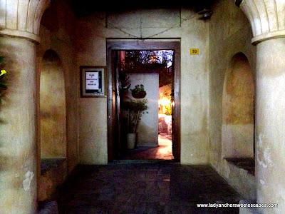 Arabian Tea House door