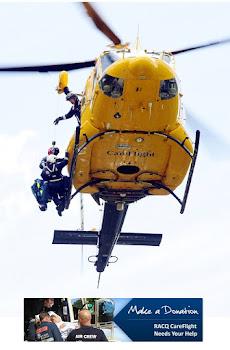gestalt art therapy colabora con RACQ- Medios aereos rescate de Australia