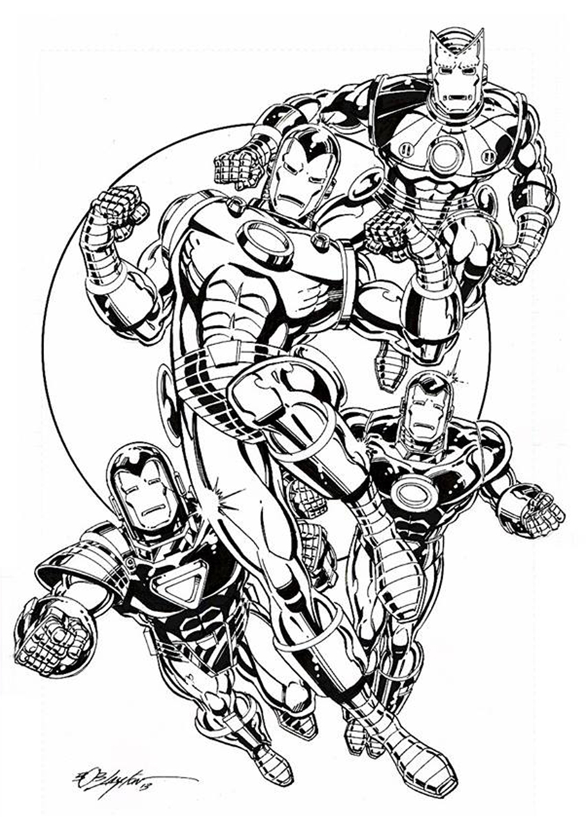 Marvel Comics Of The 1980s Iron Men By Bob Layton