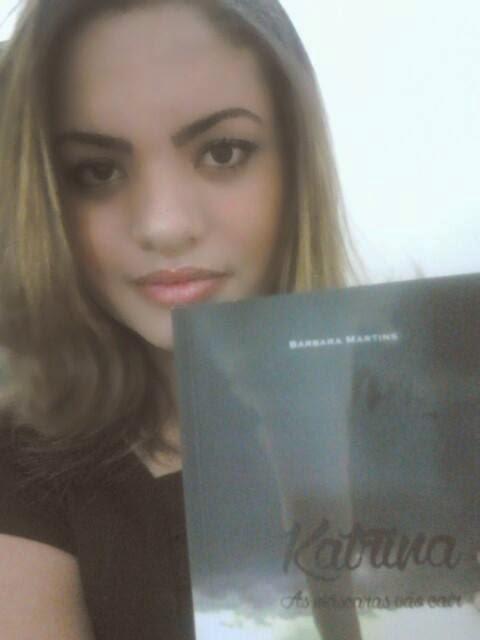 """[Parceria] Bárbara Martins - autora do livro """"Katrina"""""""