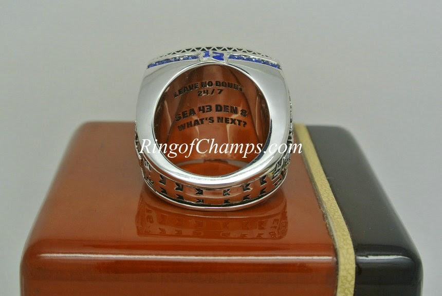 Surper Bowl ring - 2013 Seattle Seahawks championship ring