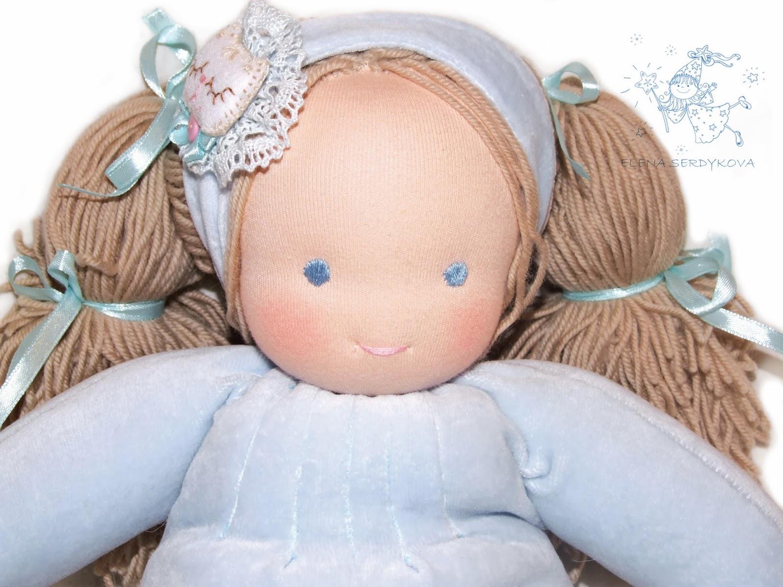 Как сделать вальдорфскую куклу фото 243
