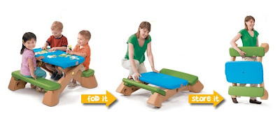 Step2 Fun Fold Jr Picnic Table