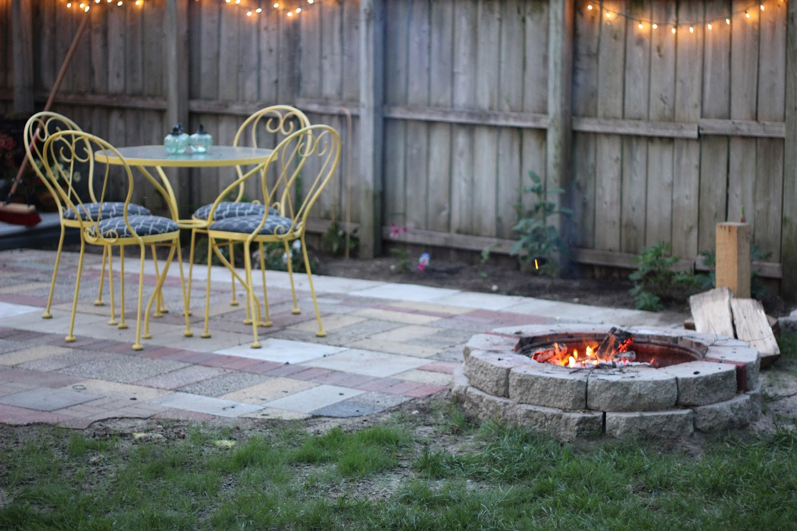 outdoor patio thoughts for small backyards