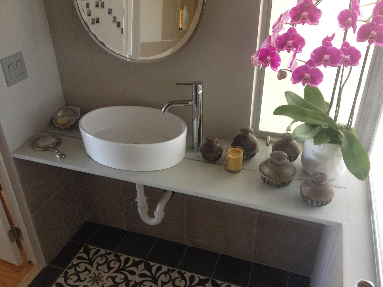 Linke Designs: Bathroom Table Top