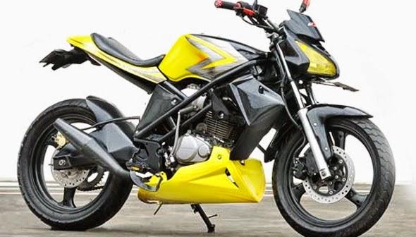 Modifikasi Honda Tiger Revo Terbaru