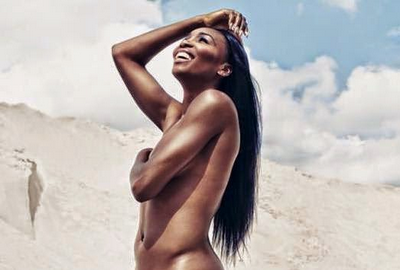 serena williams totally nude