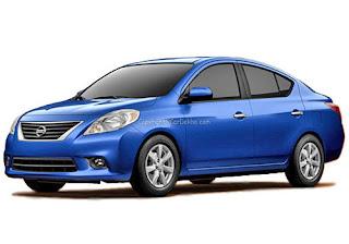 Nissan Sunny Dark Blue