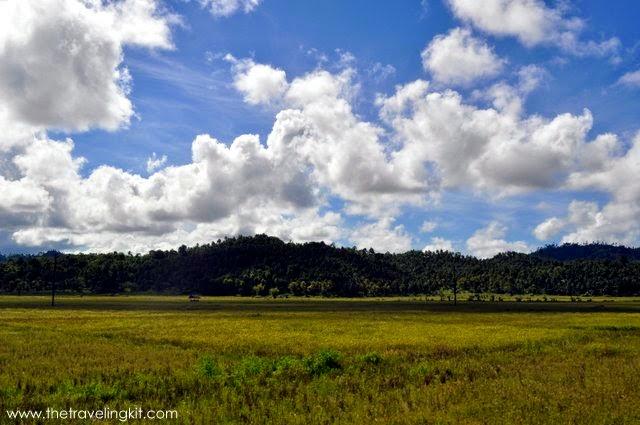 Marihatag's countryside
