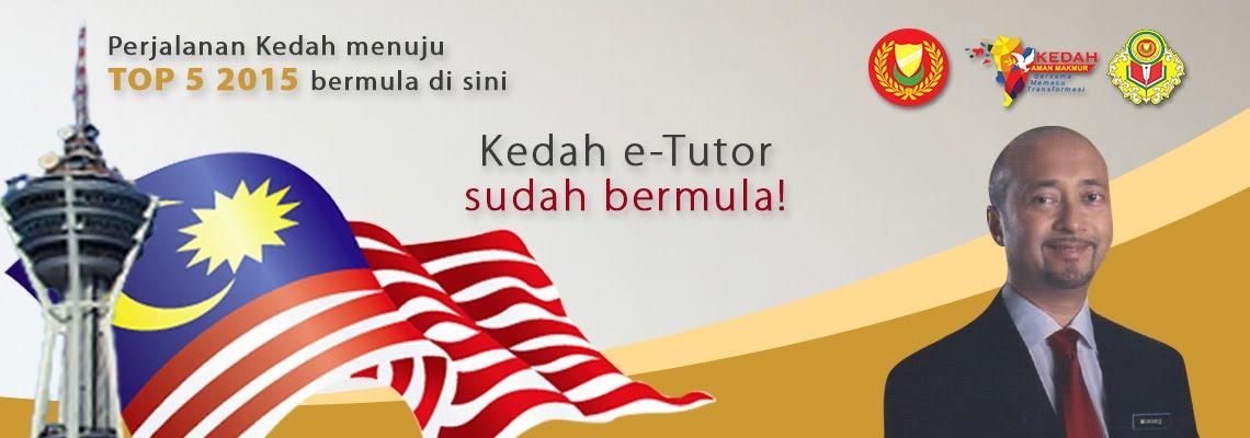 Link Untuk Kedah e-tutor